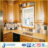 Steinmarmoraluminiumbienenwabe-Panel für Küche-Möbel