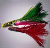 New Design 18cm Octopus Soft Resin Jig Saias Feather Bait