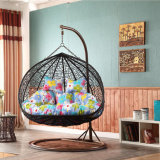 Outdoor Wicker / Rattan Egg Shape Furniture Garden Hanging Swing Chair