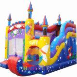 Castelo de salto Bouncy inflável Frozen para a casa do salto