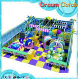Спортивной площадки детей спортивной площадки замока занятности спортивная площадка большой крытой крытая мягкая