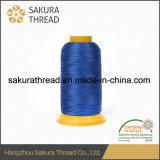 Cuerda de rosca trilobulada del bordado del poliester del 100%