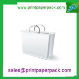 Bestellte flachen Packpapier-Beutel-Geschenk-Beutel voraus