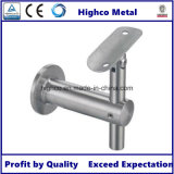Parentesi registrabile del corrimano del supporto della parete per la balaustra dell'acciaio inossidabile