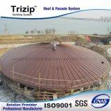 Материал крыши горячей конструкции металла сбывания стальной
