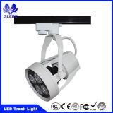 Ce Rhos COB 18W LED Luz de pista LED Museo Iluminación de pista
