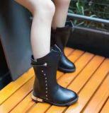 Nuevo estilo de la Ronda del dedo del pie Botas de las niñas (WX 2)