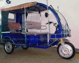 Triciclo Eletrônico Automático Three Wheeler para Taxi de Passageiro