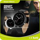 工場人間の特徴をもつiPhoneのBluetoothの歩数計同期信号呼出しSMSスマートな腕時計