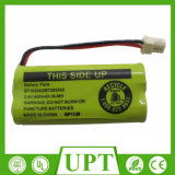 コードレスフォンのためのNI Mh AAの充電電池のパック2.4V 400mAh
