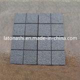 Calzada natural de la pavimentadora de la piedra del adoquín del granito para pavimentar