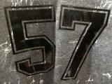 I vestiti grigi dei cardigan della stampa della lettera con il cappuccio nell'uomo copre Fw-8730