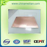 銅の覆われた薄板にされたシートの絶縁体