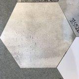 Ecken-rustikale Fußboden-Fliese des Baumaterial-sechs