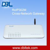 Roip 302mの十字Network Gateway/Intercom System