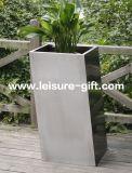 Fo9023 Stainless Steelの庭Flower PotおよびPlanter