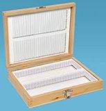 Microscope Slides Storage Box (en bois)