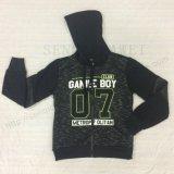 아이 소년 고전적인 스포츠는 스퀘어 6311 아이들의 옷을%s Hoodies를 지퍼로 잠근다 위로