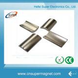 Постоянный магнит дуги неодимия никеля N35