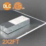 luz de painel magro quadrada aprovada do diodo emissor de luz 130lm/W dos pés ETL/Dlc de 25/32/36/40/50/70W 2X2/1X3/2X4