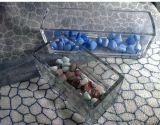 Supporto di candela di Tealight/vaso della candela/contenitore di vetro rettangolari di Canlde