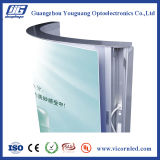 FrameBack-освещенная алюминием акриловая Коробка-ARB СИД светлая