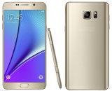 """La note déverrouillée toute neuve 5 Smartphone 5.7 """" 4G de téléphone cellulaire initial conjuguent téléphone portable de SIM"""