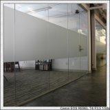 Vidro fosco de 4-15 mm / vidro de areia / vidro com ácido etiquetado para construção