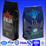 Saco do malote da embalagem do café com o saco de feijão do café da válvula