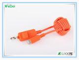 Новый кабель USB мобильного телефона 2017 с Keychain (WY-CA35)