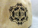 卸し売りカスタム方法わらによって編まれるバッジのヒップホップの帽子(LP002)