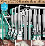 Matériel de fraisage de maïs, chaîne de production de farine usine de fraisage de maïs de la Zambie