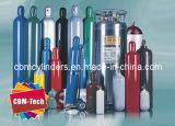 Série dos cilindros de gás da liga de aço & de alumínio