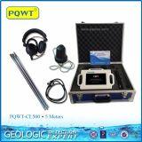 Высокая точность 4 метра детектора утечки воды трубы подземного
