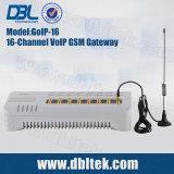 Canais DBL16 VoIP Gateway GSM GoIP16