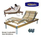 5つのゾーンのシラカバ木電気調節可能なベッド