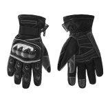 モーターバイクのための冬の手袋はモトクロスのGuantesの競争のMoto Luvasの戦術的な防水オートバイの手袋を暖める