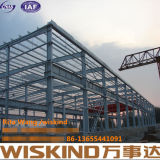 Prefabbricare la struttura d'acciaio dell'indicatore luminoso del magazzino del blocco per grafici della struttura d'acciaio/metallo dell'installazione veloce