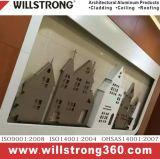 Painel de alumínio PVDF Revestimento para revestimento de parede exterior