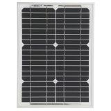 panneau solaire 10W mono pour le système de d'éclairage solaire