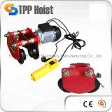 1000kg販売のための携帯用小型ワイヤーロープモーター上昇の電気起重機PA1000