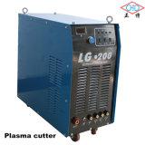O cortador portátil 200A Plasam do plasma do CNC LG-200 cortou 200