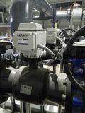 Elektrisches betätigtes JIS 150lb Gewinde-Flansch-Kugelventil