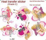 Стикеры печатание передачи тепла изготовленный на заказ для мешков/одежд