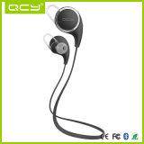 Receptor de cabeza sin hilos de Bluetooth del atleta del auricular de la Reblandecer-Prueba profesional con el micrófono