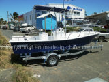 Bote de salvamento do console Center FRP do iate da pesca de Liya 19ft China