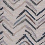 Linie aiment le tissu de projet tissé par jacquard de polyester