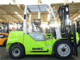 Saudi-Arabien 6m anhebender 3 Tonnen-Gabelstapler-Diesel