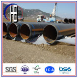 Tubo de acero soldado espiral anticorrosión del API 5L X70 Psl2 SSAW 3PE
