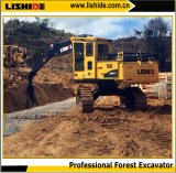 33ton Hydraulic Forest Excavator com 360 Degress Gripper para Log